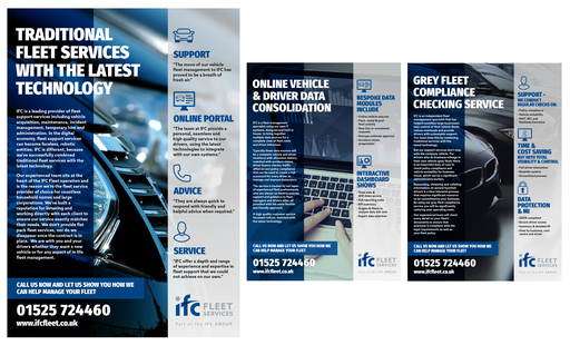 IFC Flyer Design. Email Flyer Marketing